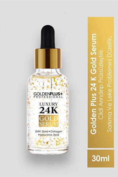 Golden Plus 24k Altın Parçacıklı Yaşlanma Karşıtı Gold Beauty Serum 30ml