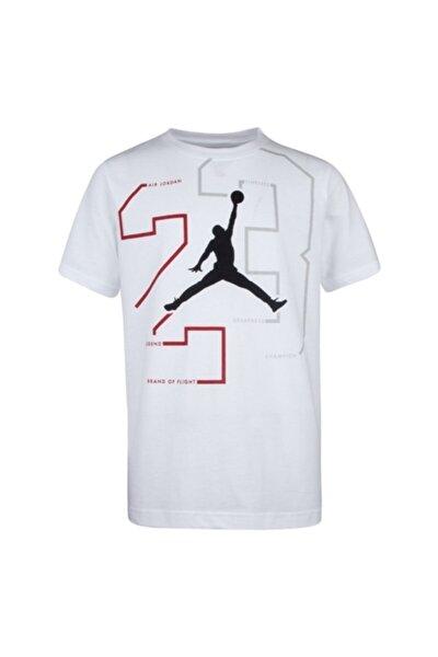 Erkek Çocuk Beyaz Jordan Path Of Greatness T-Shirt 95a065-001