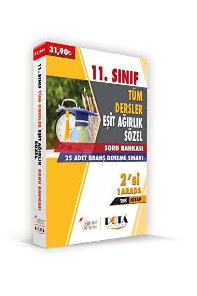 11.sınıf Ea-söz Tüm Dersler Soru Bankası + 25 Adet Branş Deneme Sınavı (tek Kitap)