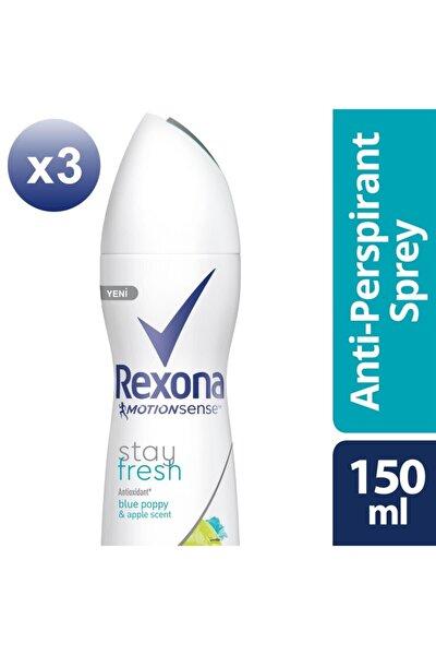 Kadın Deodorant Sprey Stay Fresh 150 Ml X3
