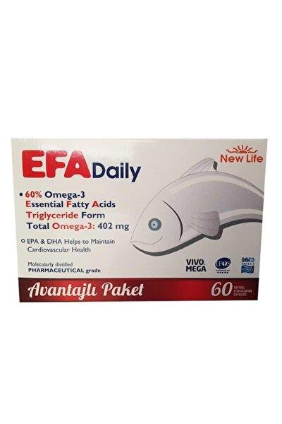 Newlife Efa Daily 60 Kapsül Avantajlı Paket