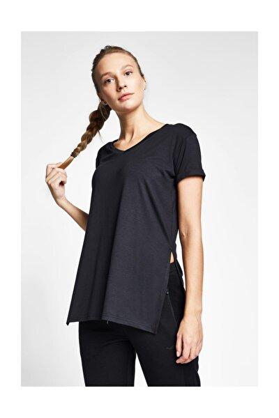 Kadın Siyah T-shirt 20b-2028