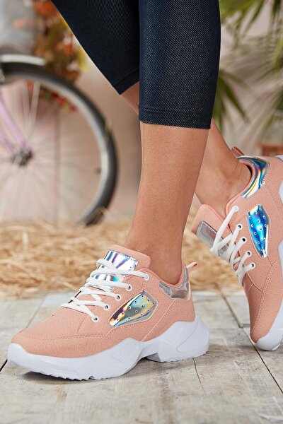 Pudra Kadın Sneaker DS.MJ1880
