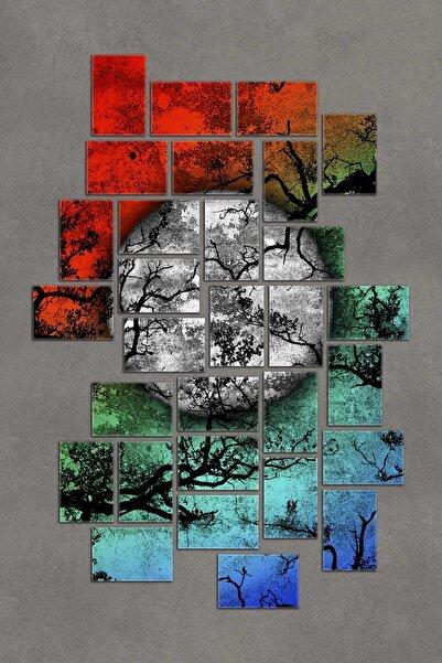 30 Parça Puzzle Mdf Tablo Seti Dekoratif Pzldkl-107