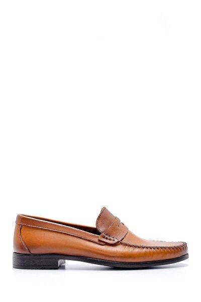 Erkek Kahverengi Deri Klasik Loafer