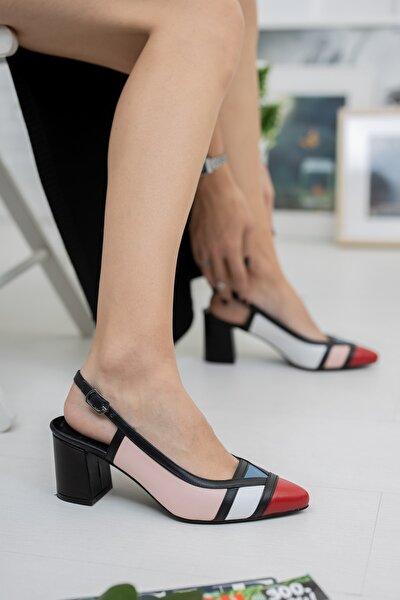 Kadın Hakiki Deri Günlük Kullanım Sonbahar / Kış Sezon Topuklu Ayakkabı