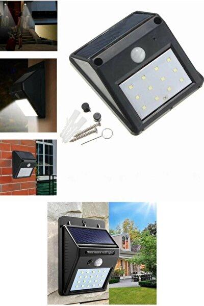 Sensörlü Solar Duvar Lambası 20 Ledli