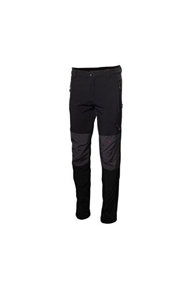 Erkek Siyah Outdoor Softshell Outdoor  Pantolon