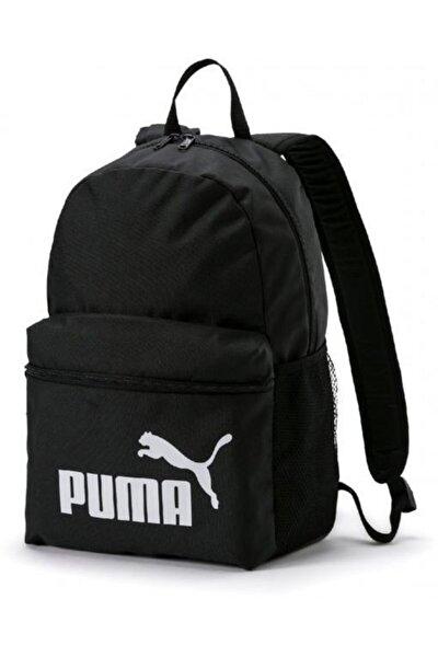 Unisex Siyah Phase Backpack Black Sırt Çantası