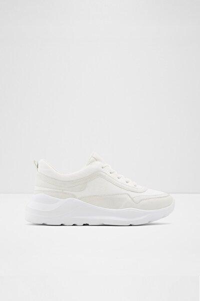 Kadın Beyaz Bağcıklı Sneaker