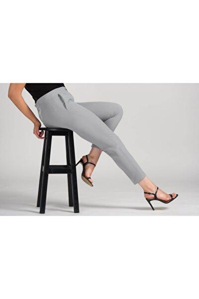 Kadın Taş Dar Bilek Pantolon