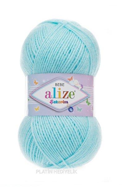 ( 5 Adet ) Şekerim 189 Mavi El Örgü Iplikleri Yelek Hırka Atkı Kazak Ipliği Patik Bebe Ipi Bebe