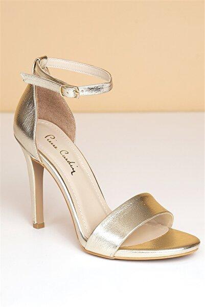 PC-50170 Parlak Altın Kadın Ayakkabı