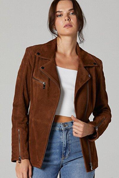 Mayfair Kadın Süet Deri Ceket