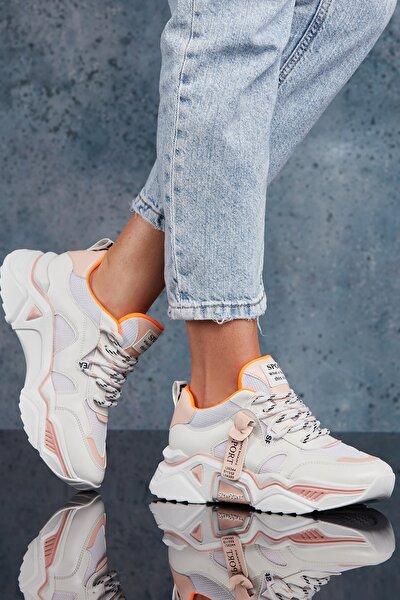 Kadın Pudra Sneaker