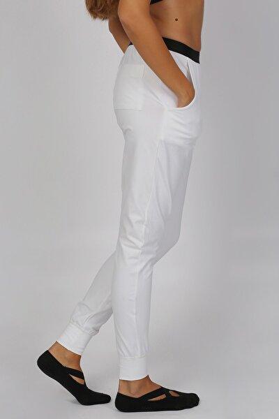 Unisex Beyaz Pantolon