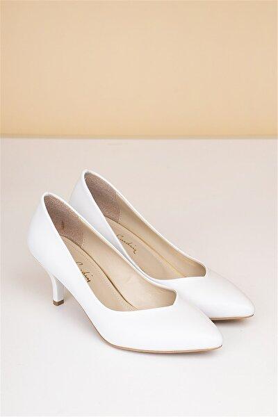 PC-50179 Beyaz Kadın Ayakkabı