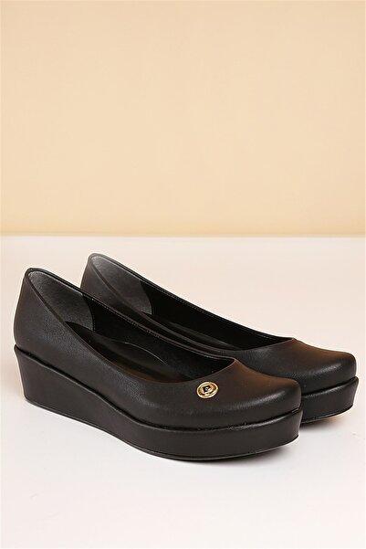 PC-50086 Siyah Kadın Ayakkabı