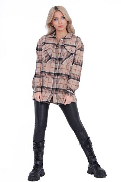 Kadın Vizyon Oduncu Gömlek