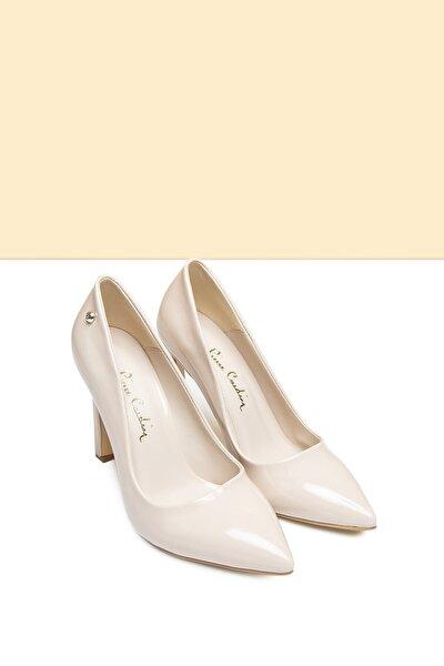 PC-50505 Rugan Bej Kadın Ayakkabı