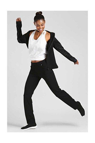Kadın Siyah  Pantolon Eşofman Alt