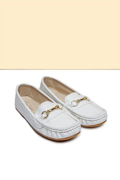 PC-50696 Beyaz Kadın Ayakkabı