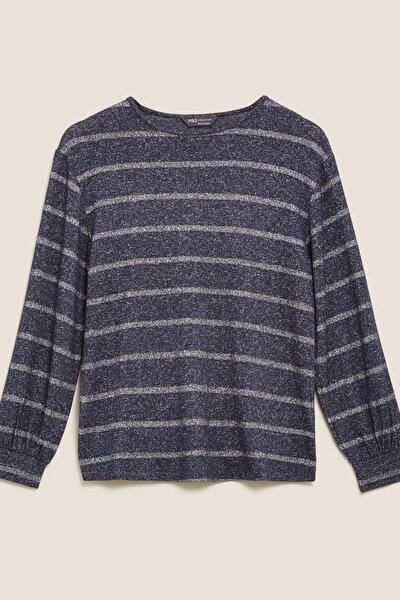 Kadın Lacivert  Bluz T41006040C