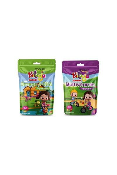 Niloya Multivitamin 60 Tablet+ Niloya Omega 3 Dha 60 Tablet