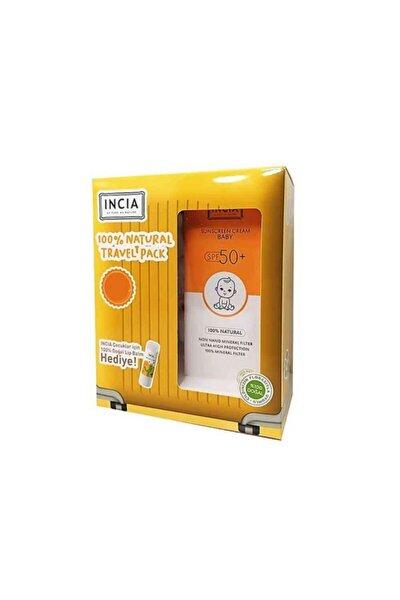 Sunscreen Cream Baby Spf50+ 100ml Lip Balm Set