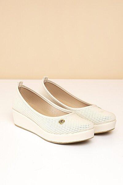 PC-50103 Bej Kadın Ayakkabı