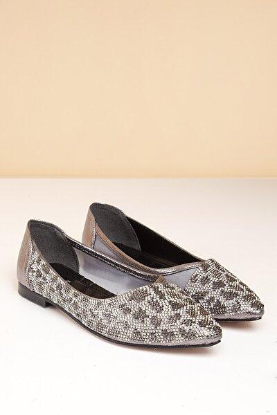 PC-50272 Platin Kadın Ayakkabı