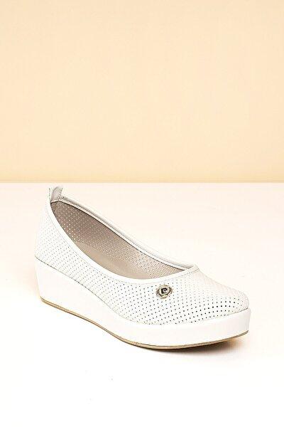 PC-50103 Beyaz Kadın Ayakkabı