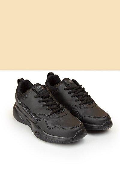 Pc-30478 Siyah Kadın Spor Ayakkabı