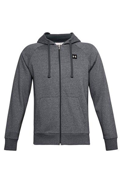 Erkek Spor Sweatshirt - Ua Rival Fleece Fz Hoodie - 1357111-012