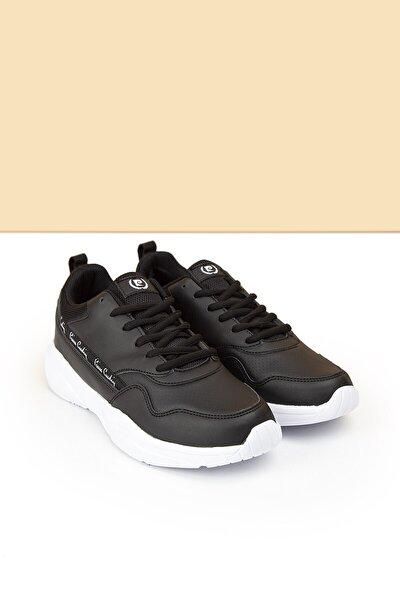 PC-30478 Siyah-Beyaz Kadın Spor Ayakkabı
