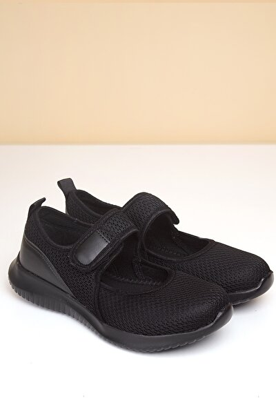 PC-30166 Siyah Kadın Spor Ayakkabı