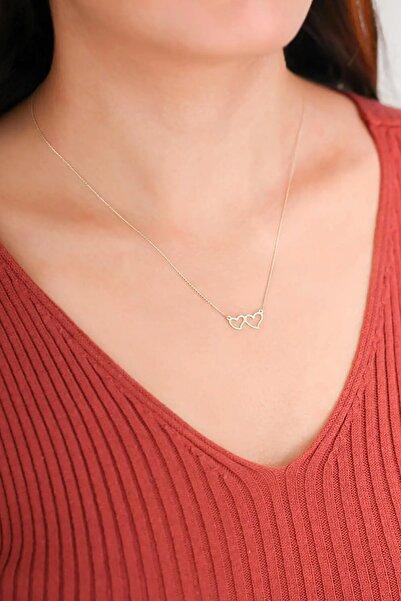 Kadın Altın Kalp Kolye KLMK7144-24754