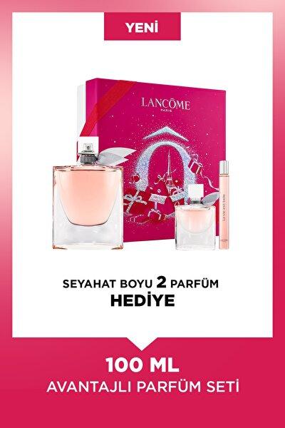 La Vie Est Belle Edp 100 ml Kadın Parfüm Seti 3614273257459