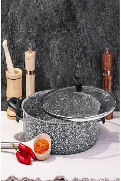 Ultra Granit Basık Tencere 28 Cm Pilav Tenceresi