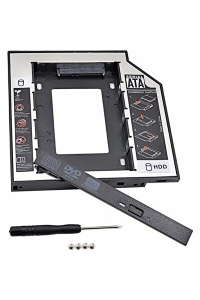 12.7mm Hdd Caddy Kızak Laptop Dvd To Ssd Kutu Sata 4717p