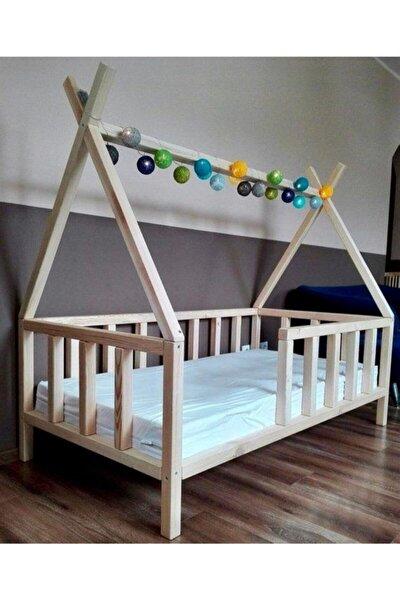Apache Doğal Montessori Bebek Ve Çocuk Karyolası