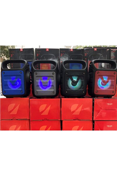 Güvenlisepet Bluetooth Hoparlör El Feneri Kablosuz Speaker Taşınabilir Kablosuz Hoparlör Ses Bombası