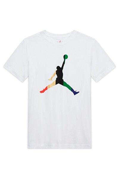 Erkek Çocuk Beyaz Jordan Dream Team Rıbbon Tişört 95a079-001