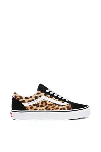 Leopard Old Skool Kadın Ayakkabısı Vn0a4u3b3ı61