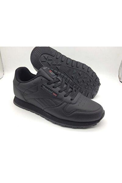 Kadın Siyah Rebook Model Spor Ayakkabı