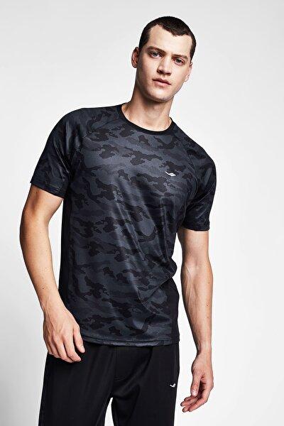 Erkek Siyah T-shirt 20b-1132
