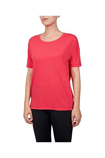 Kadın Fuşya T-shirt 18y-2161