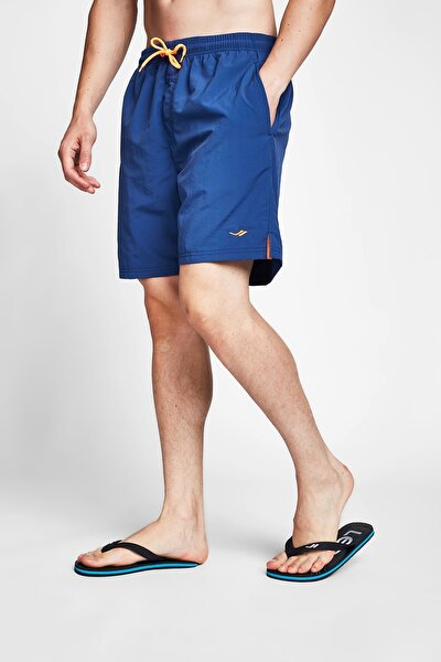 Erkek Indigo Mavi Deniz Şortu 20y-1159