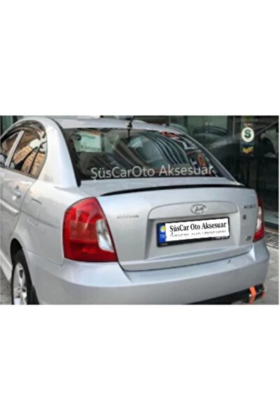 Hyundai Accent Era Bagaj Üstü Spoiler Bagaj Çıtası Piano Black
