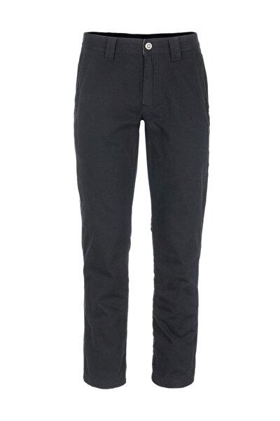 Kadın Siyah Lined Pocket Pantolon